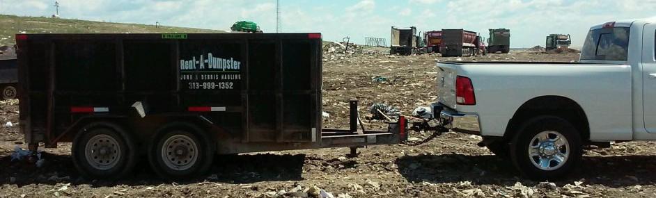 Rent-A-Dumpster dumpster rental