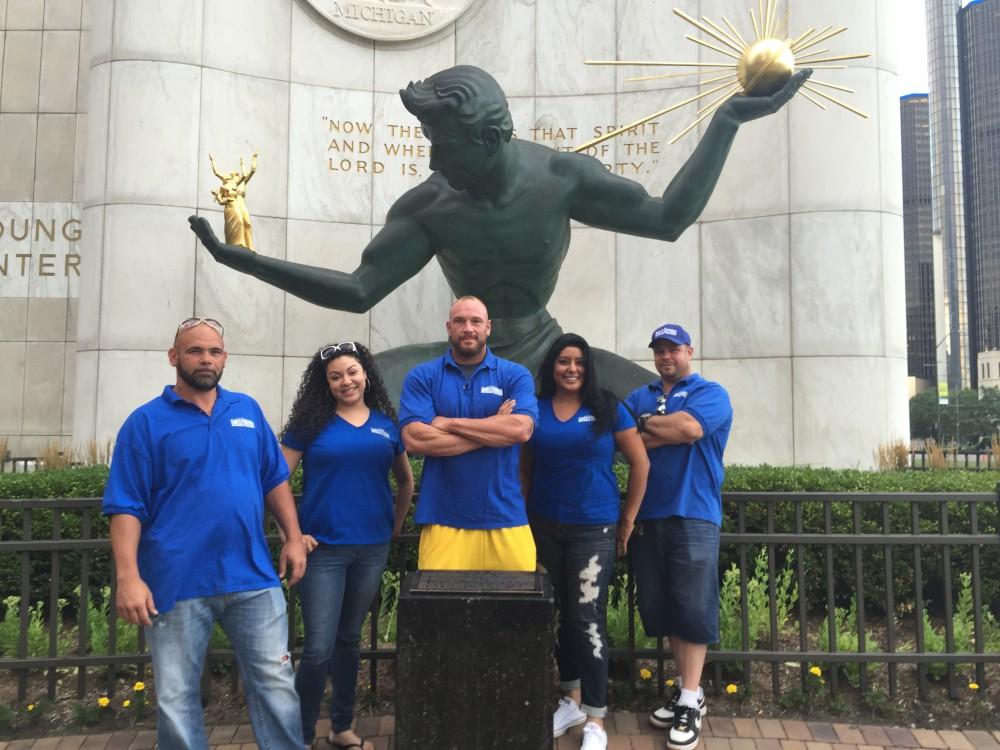 Rent-A-Dumpter team